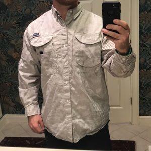 Columbia Omnishade PFG long Sleeve Fishing Shirt